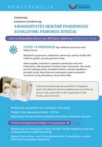 """Read more about the article """"Savanorystės reikšmė pandemijos suvaldyme: pamokos ateičiai"""""""