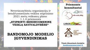 Read more about the article Dešimtyje Lietuvos savivaldybių startuoja bandomasis modelis, siekiant stiprinti bendruomenines organizacijas