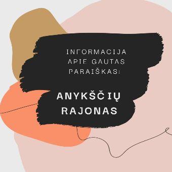 Read more about the article Informacija apie Anykščių r. savivaldybės papildomo kvietimo gautas paraiškas
