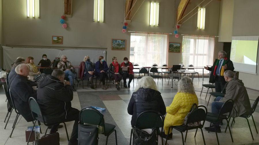 Read more about the article Diskusija su Telšių apskrities bendruomeninių organizacijų tarybomis