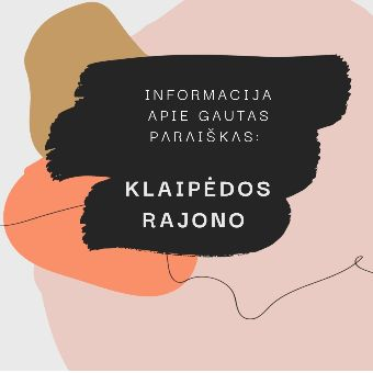 Read more about the article Informacija apie Klaipėdos rajono savivaldybės gautas paraiškas