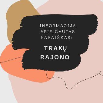 Read more about the article Informacija apie Trakų rajono savivaldybės papildomo kvietimo gautas paraiškas