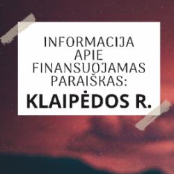 Read more about the article Klaipėdos r. savivaldybės finansuojamų bendruomeninės veiklos stiprinimo projektų sąrašas